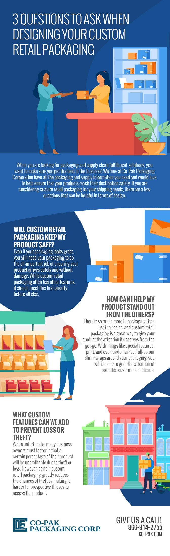 3 Questions to Ask When Designing Your Custom Retail Packaging
